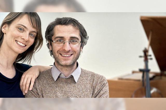 Anne Hilse-Heideker (Violoncello) und Alexander Geladze (Klavier) in Breitnau