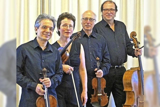 Segantini Quartett zu Gast Obereggenen