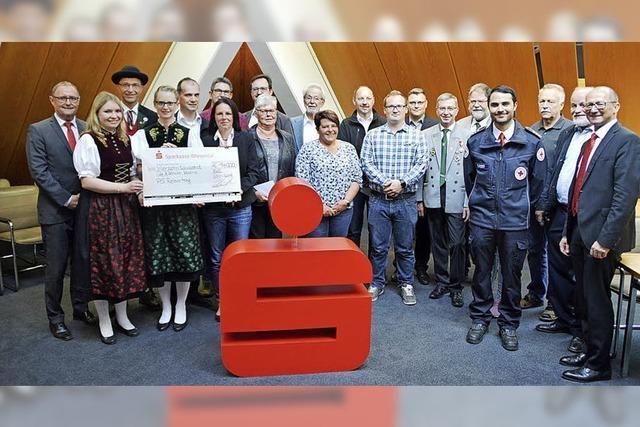 14 000 an Vereine gespendet