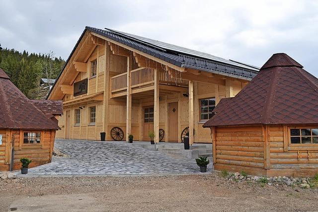 Aus 400 Jahre altem Holz gezimmert