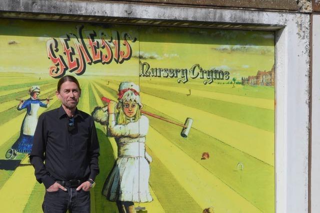 Genesis-Fan aus Rheinfelden hat das schönste Garagentor der Stadt