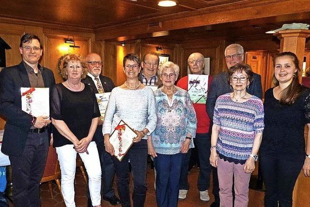 Holzer, Läufer, Nopper: Ein Leben lang im Chor