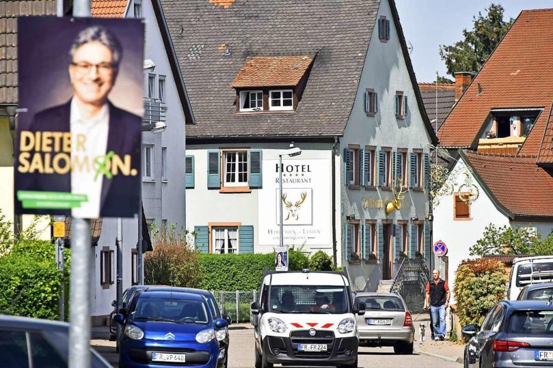 Lehen ist eigentlich CDU-Stammland in Freiburg.  | Foto: Michael Bamberger