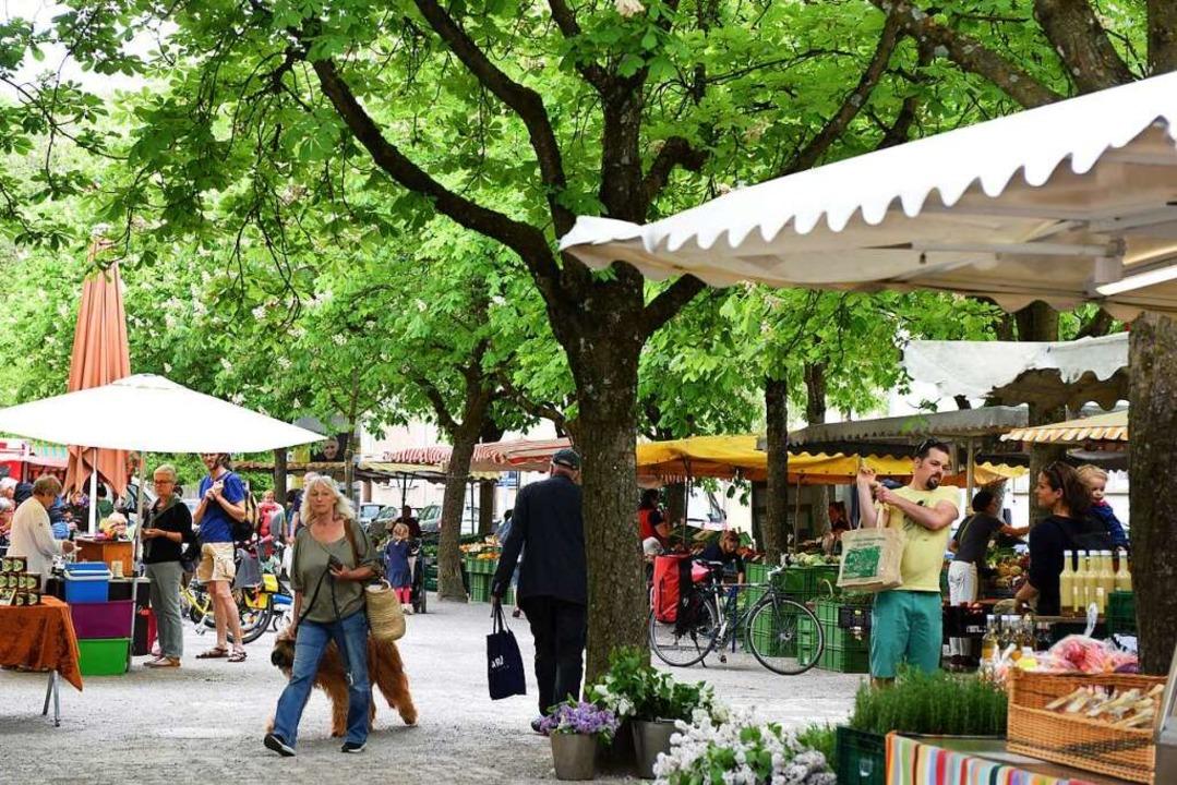 Trotzdem weht der Hauch der Veränderung über den Wiehremarkt.  | Foto: Rita Eggstein