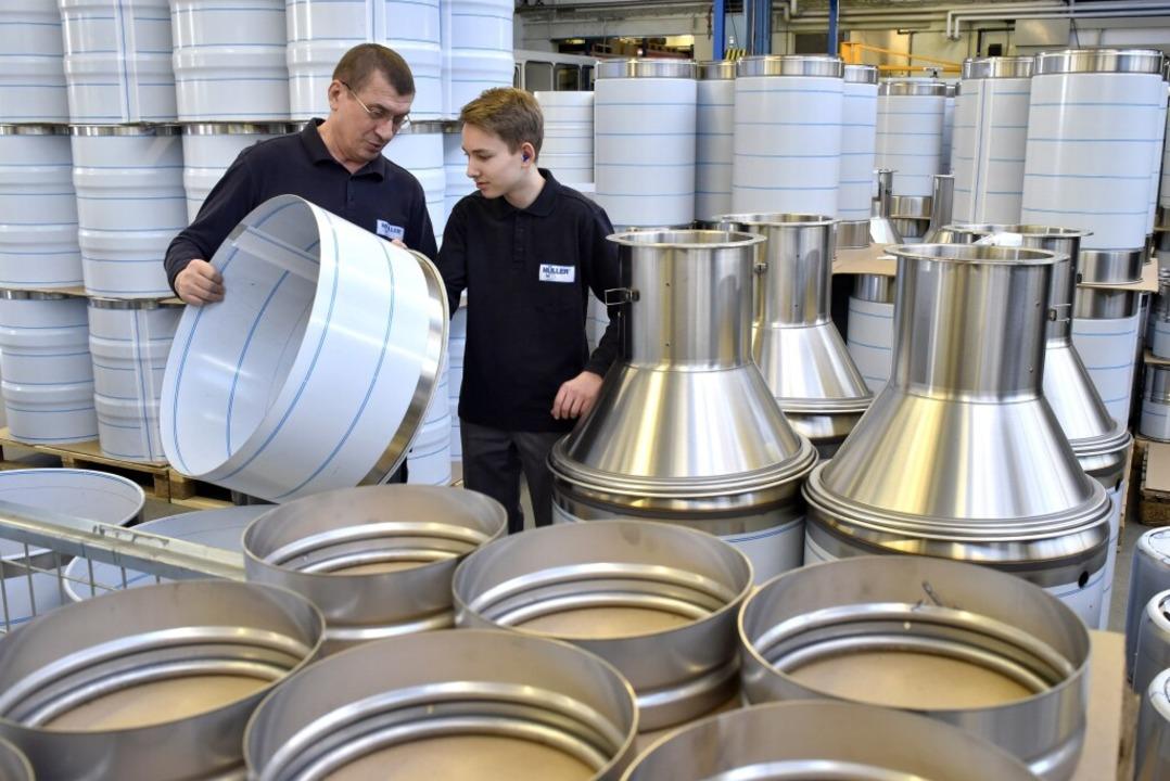 Die Mitarbeiterzahl hat sich seit 2006...rfahrene Kräfte arbeiten Hand in Hand.  | Foto: Thomas Kunz