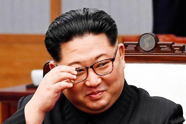 Kim, der Staatsmann