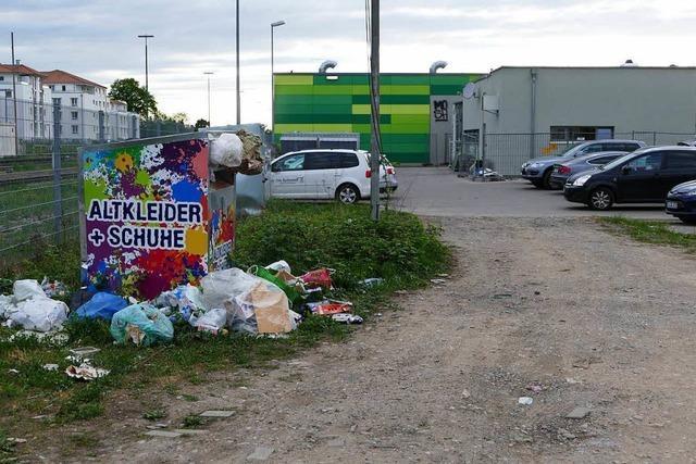 Baugrundstück in Rheinfelden wird als Müllkippe genutzt