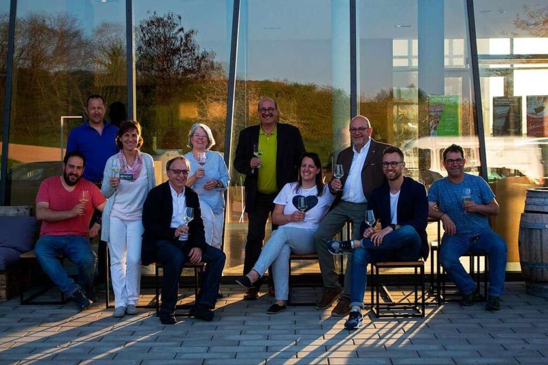 Das Organisationsteam der Weinkult Bre...Z-Regionalverlag Emmendingen/Ortenau).  | Foto: Patrik Müller