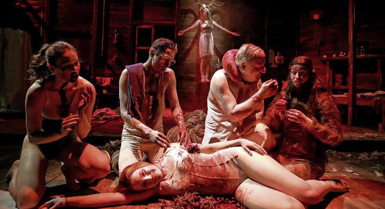 The Black Forest Chainsaw OperaInga Sc..., Holger Kunkel, Tine Van den Wyngaert  | Foto: Birgit Hupfeld