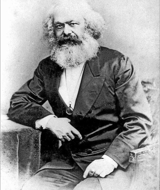 Philosophie und politische Ökonomie mi...urde vor 200 Jahren in Trier geboren.     Foto:  AFP