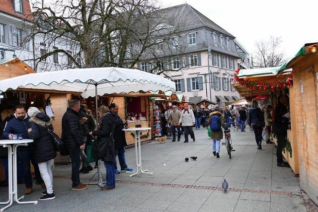 Lörracher Weihnachtsmarkt: Totsparen bringt nichts