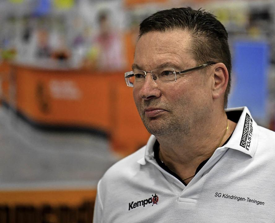 Konnte den Abstieg nicht verhindern, b...n. der dänische Trainer Ole Andersen.     Foto:  SEEGER