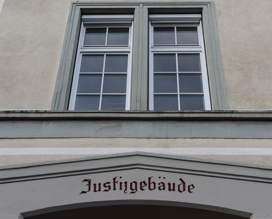 Im Waldshuter Landgericht gab es 2017 ...urgerichtverfahren wie im Jahr zuvor.     Foto:  dpa