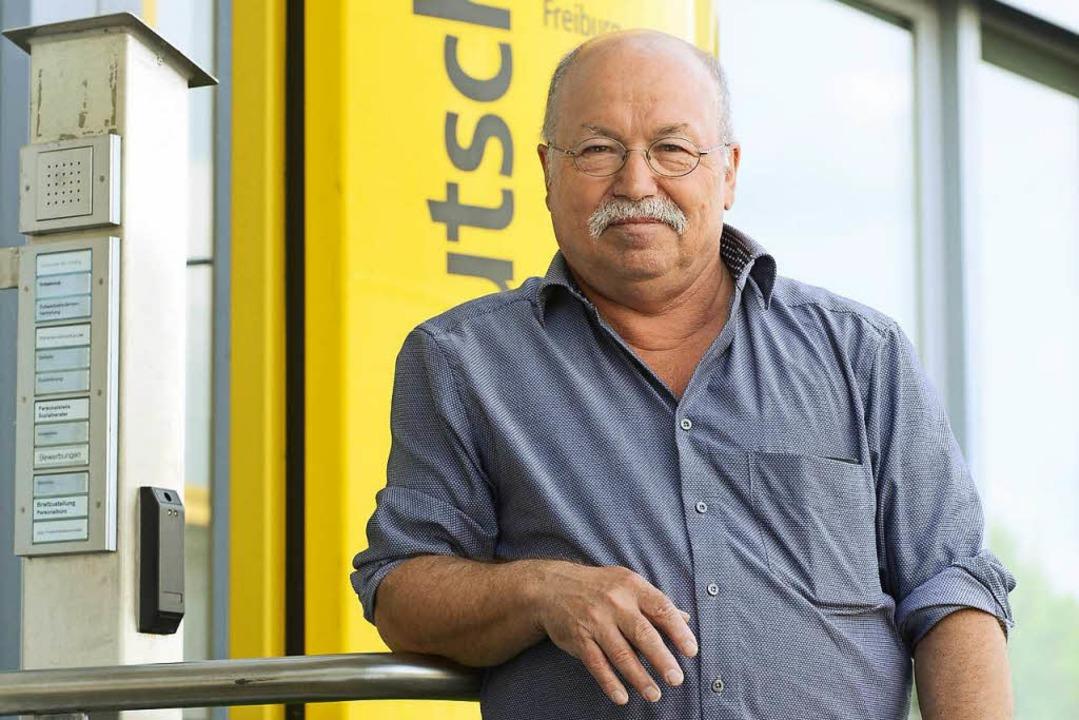 Werner Siebler, einst roter Briefträger und nun scheidender Betriebsrat  | Foto: Ingo Schneider