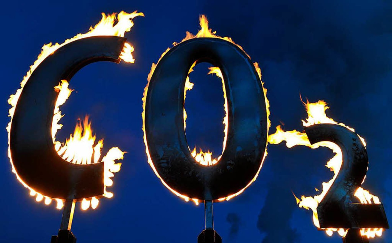 Kohlendioxid gilt als Klimakiller.   | Foto: DPA