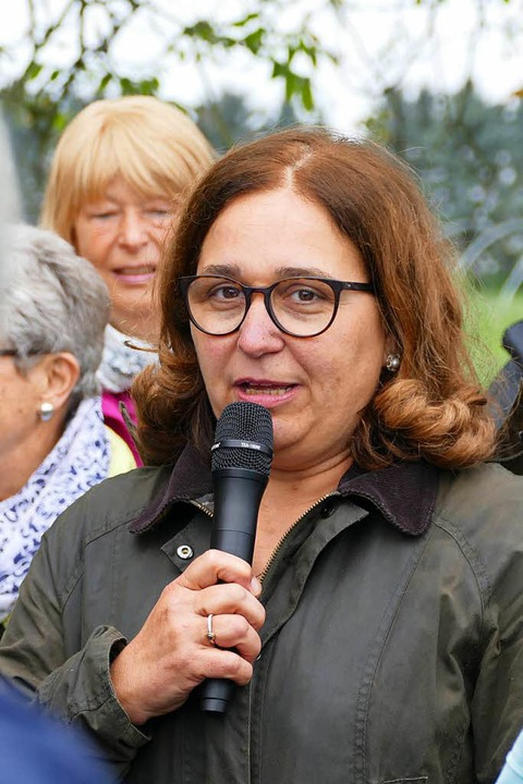 Sonja Mathis-Stich ist von der Umstellung ihres Betriebs überzeugt.  | Foto: Nikola Vogt