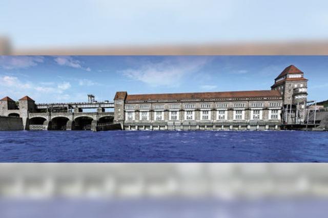 Verbindung des schweizerischen mit dem deutschen Rheinufer