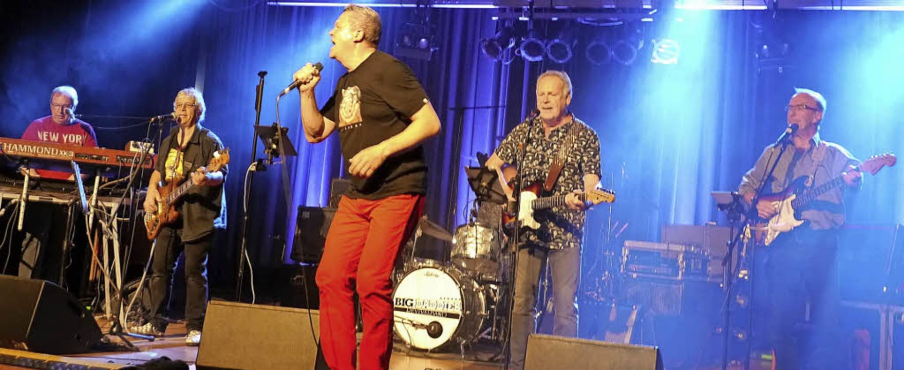 Die Big Daddies begeistern mit ihren O... Publikum am Samstagabend in Endingen.    Foto: Christa Hülter-Hassler