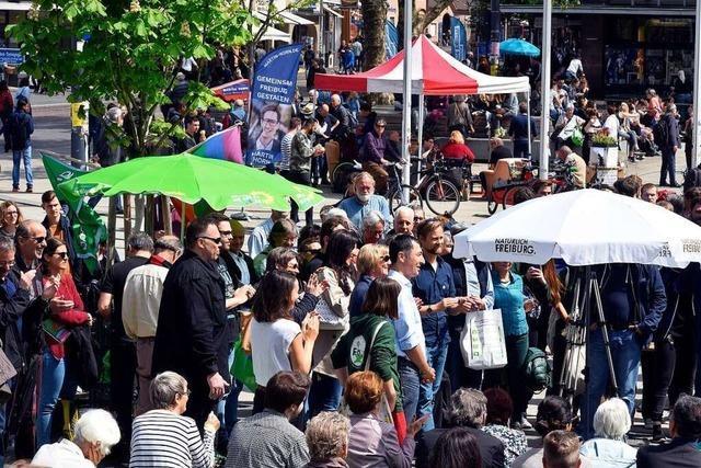 Wo in Freiburg die Demokratie ihren Platz hat