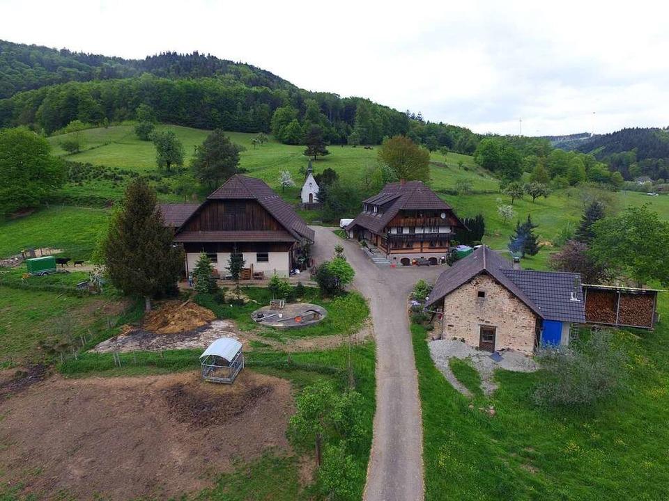 Der Beckekarlihof in Reichenbach    Foto: Jarno Kiesele