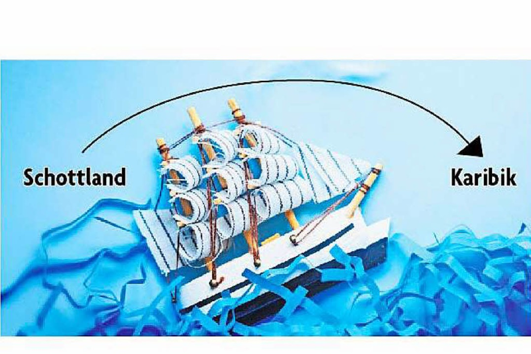 Von Schottland bis fast in die Karibik...tischen Jungs geschafft (Symbolbild).     Foto: adobe.com/Modifiziert: BZ