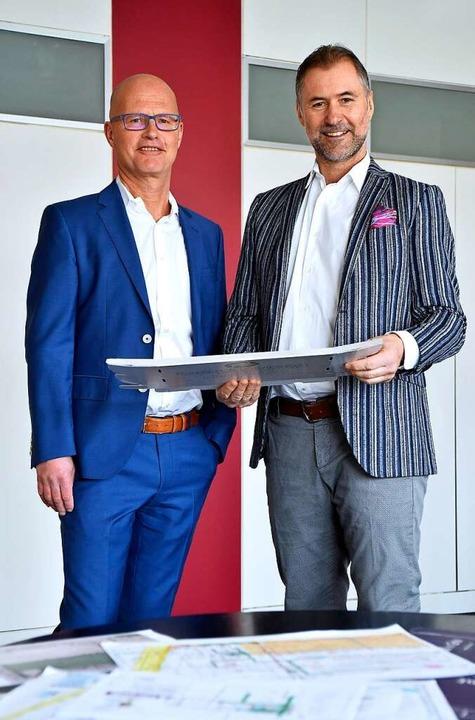 Geschäftsführer Alexander (li.) und Steffen Würth    Foto: Thomas Kunz