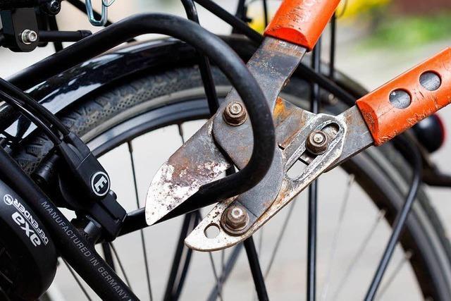 Lörracher Polizei knackt Fahrradschloss