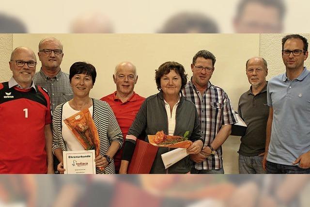 Generationenwechsel beim Indiaca-Verein