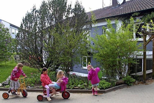 Wohnungen werden zur Kinderkrippe