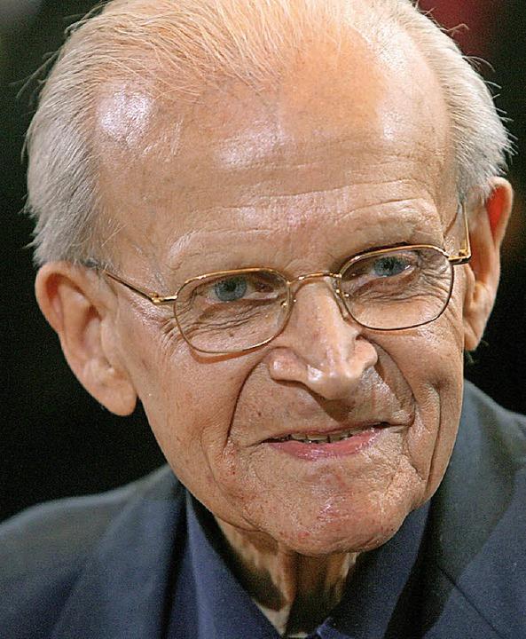 Eugen Biser im Jahr 2014  | Foto: dpa