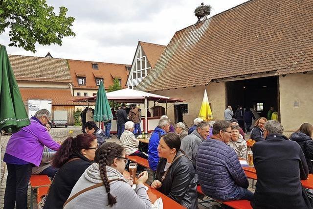 Maifeiern in Merdingen