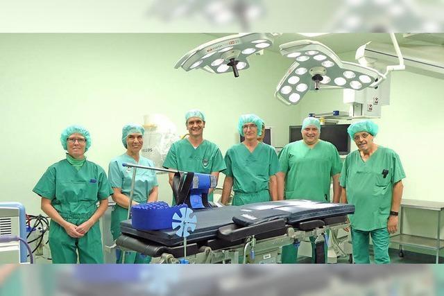 Nahtloser Übergang beim Operieren