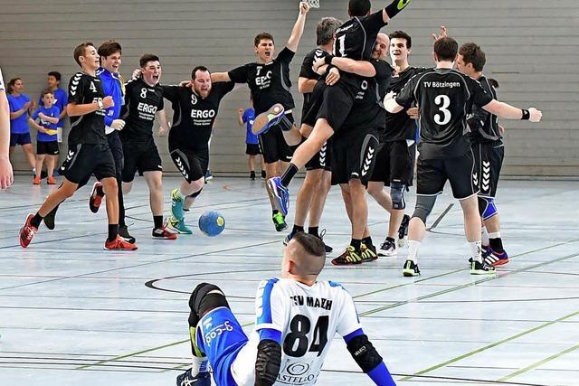 Bötzinger Handballer springen in die Bezirksklasse