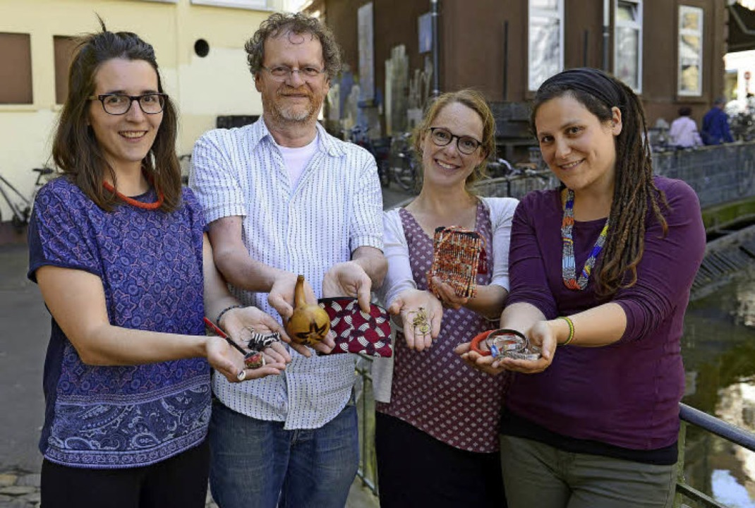 Im Kipepeo-Förderverein Kenia engagier...be, Sonja Amolo und Stefanie Staiger.   | Foto: Ingo Schneider