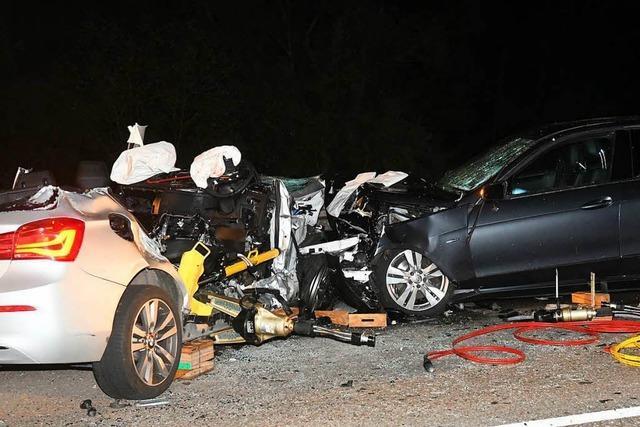 Vier Menschen sterben bei schwerstem Verkehrsunfall in der Ortenau seit sechs Jahren