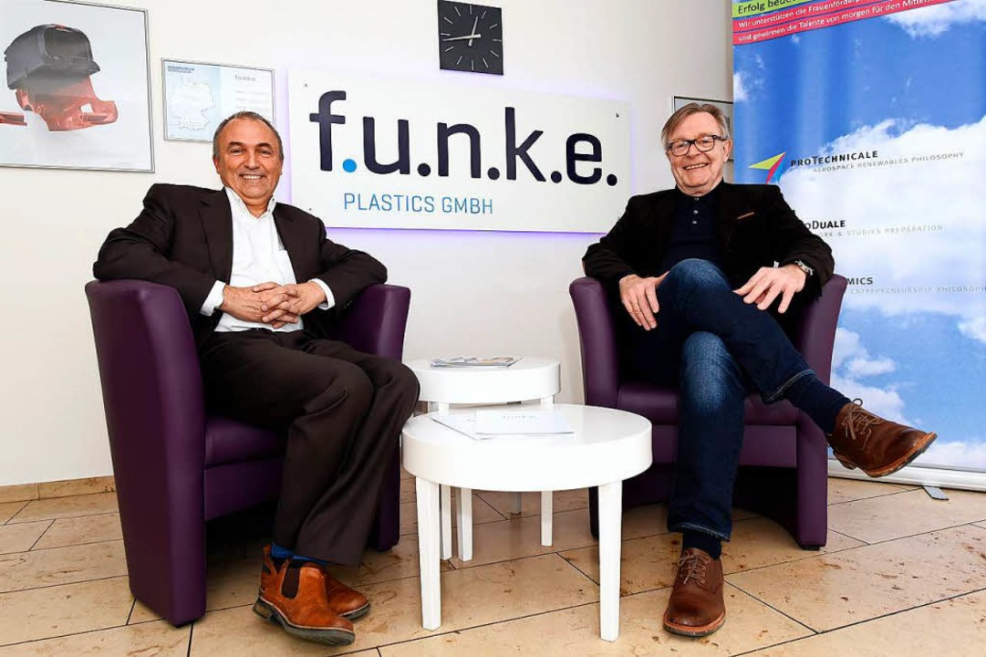 Geschäftsführer Manfred Kennel (li.) und Gesellschafter Bernd Wittemöller  | Foto: Thomas Kunz