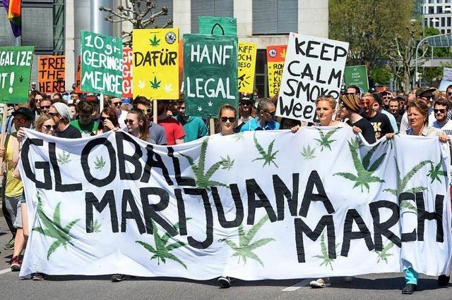 Demonstrationen für Legalisierung von Cannabis im Südwesten – auch in Freiburg