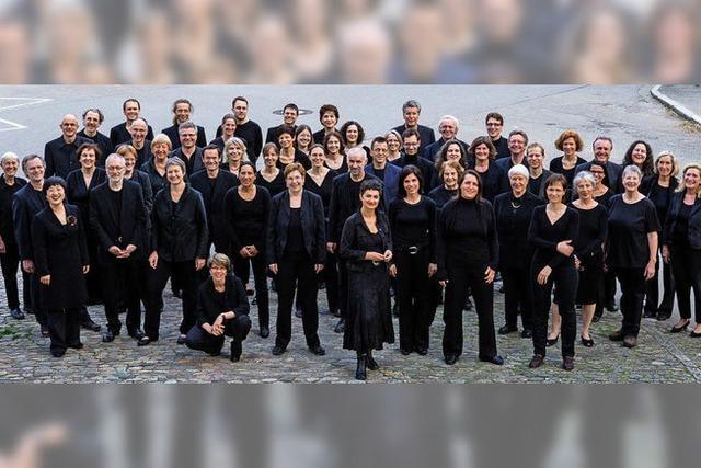 Die Freiburger Christuskantorei mit Werken von Britten, Bernstein und John Rutter
