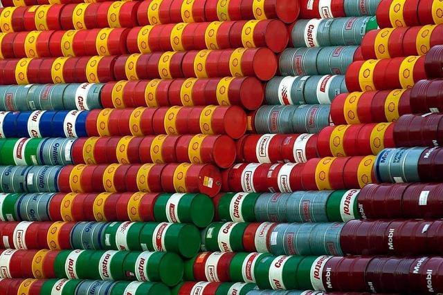Öl kostet wieder mehr als 70 Dollar