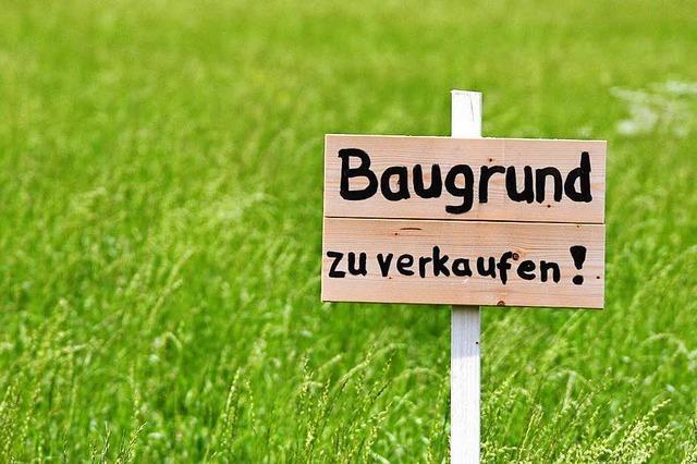 Die Preise der Baugrundstücke in und um Freiburg explodieren
