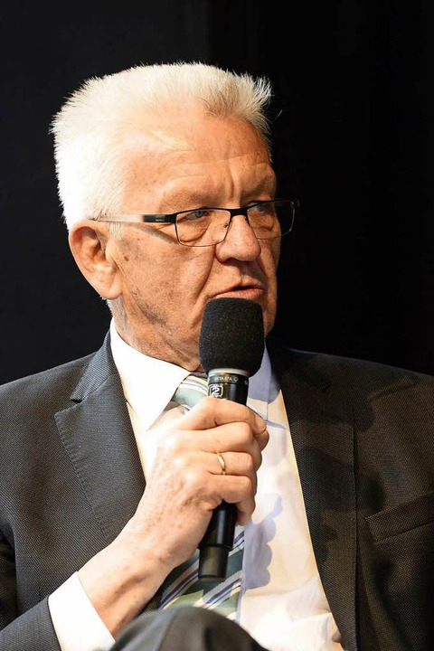 Winfried Kretschmann  | Foto: Ingo Schneider