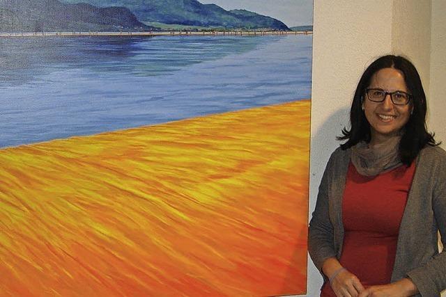 Elena Romantin stellt bis zum 22. Juli Werke in der Klinik Wehrawald in Todtmoos aus