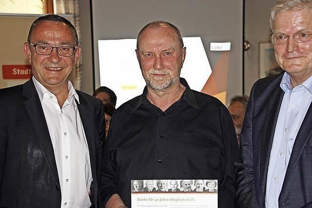 Seit 40 Jahren in der CDU aktiv