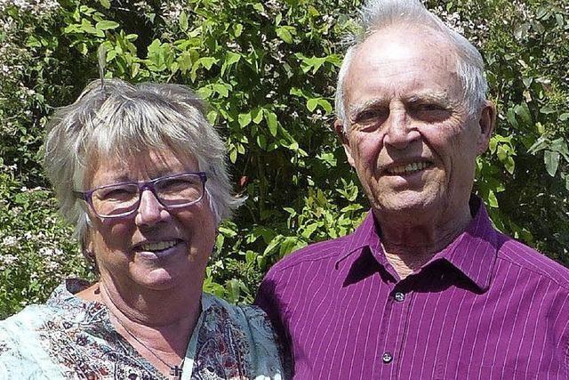 Ein goldenes Paar mit vielen Verdiensten