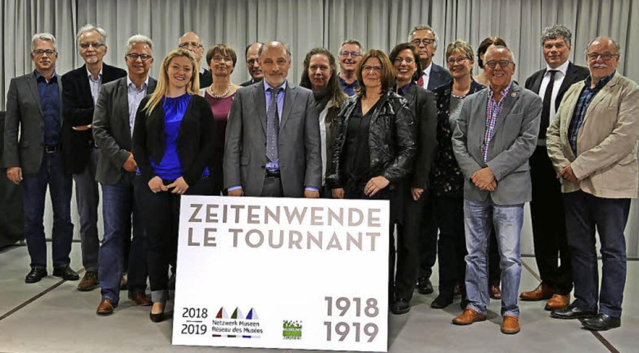 Viele Akteure sind am Museumsprojekt b...Lörrach zum Netzwerktreffen zusammen.   | Foto: Sabine Ehrentreich