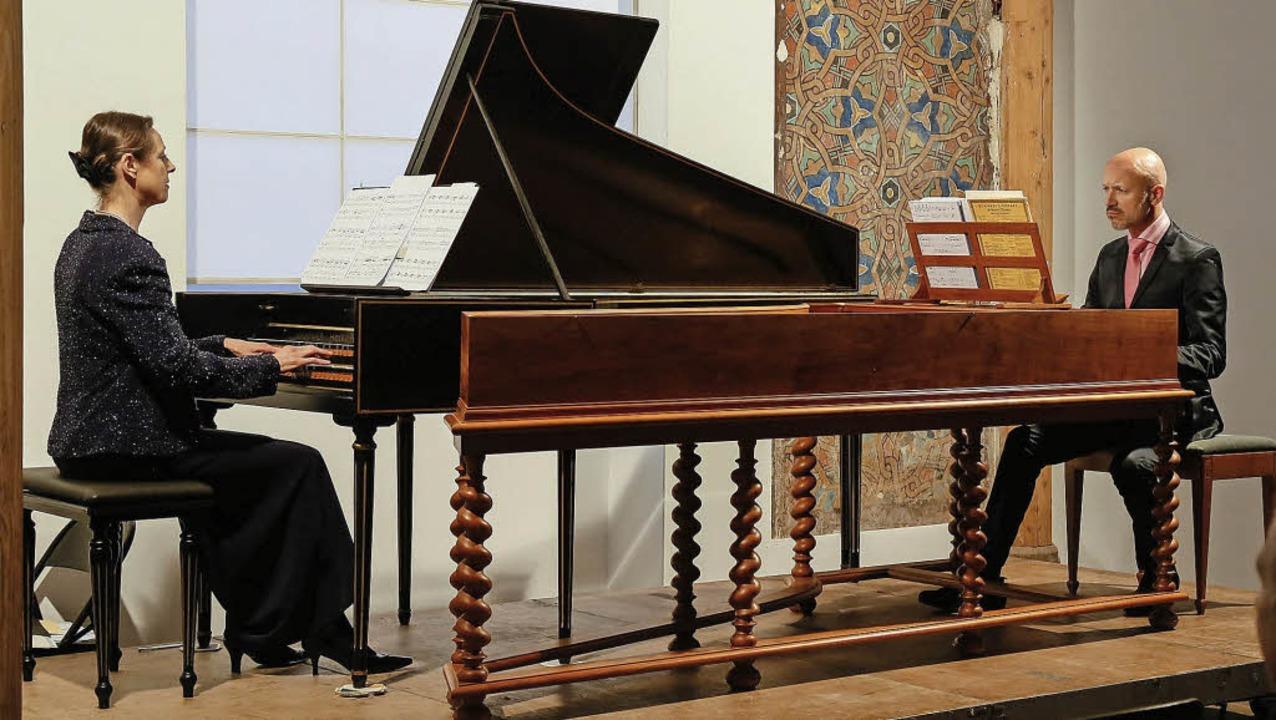 Urte Lucht und Markus Märkl spielen au...i  barocke und zeitgenössische Musik.   | Foto: S. Decoux-Kone