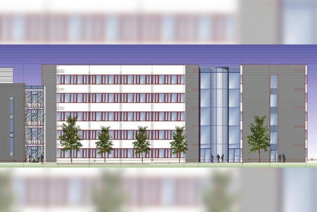 Ab Mitte Mai rollen die Bagger für das neue Verwaltungsgebäude der Badenova