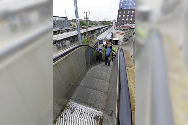 Der barrierefreie Umbau des Hauptbahnhofs beginnt erst 2024