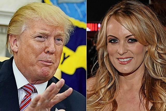 Trump mit neuer Version zu Stormy Daniels