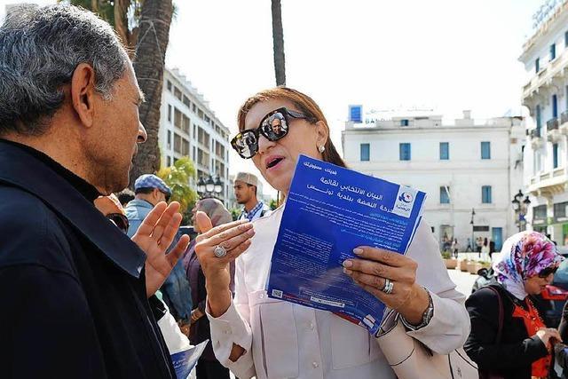 Kommunalwahlen in Tunesien: Feuertaufe für die Demokratie